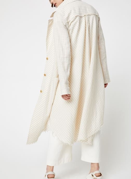 Kleding Free People LET'S JUST CRUISE DUSTER Beige model