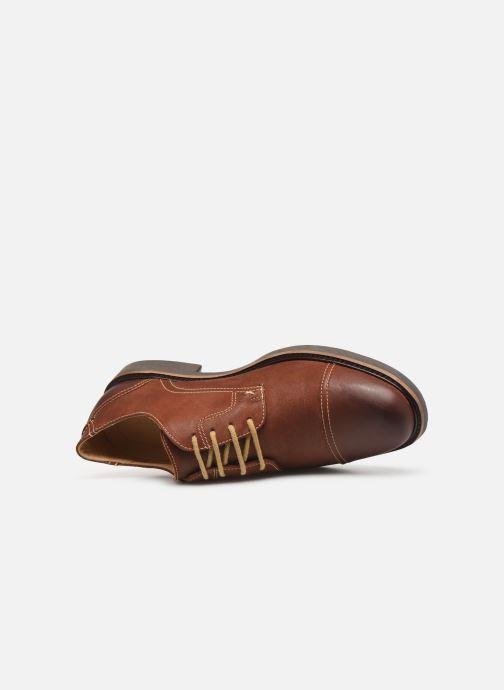 Chaussures à lacets Anatomic & Co Pimenta C Marron vue gauche