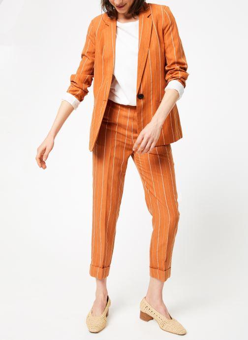 Vêtements MKT Studio VIKY Marron vue bas / vue portée sac