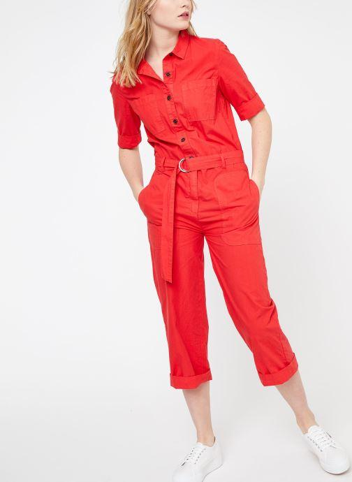Vêtements MKT Studio ORAMI Rouge vue bas / vue portée sac