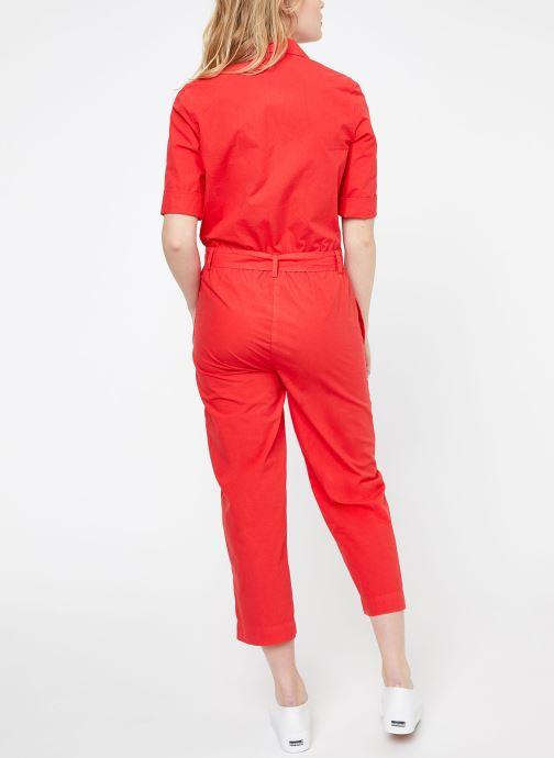 Vêtements MKT Studio ORAMI Rouge vue portées chaussures