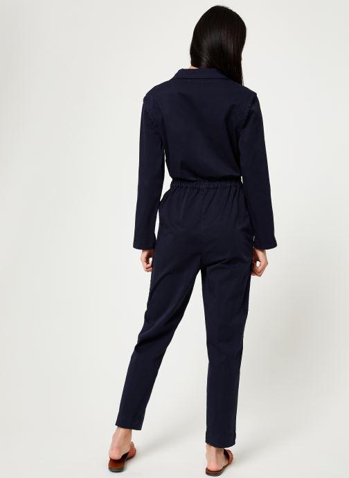Vêtements MKT Studio OPALITE Bleu vue portées chaussures