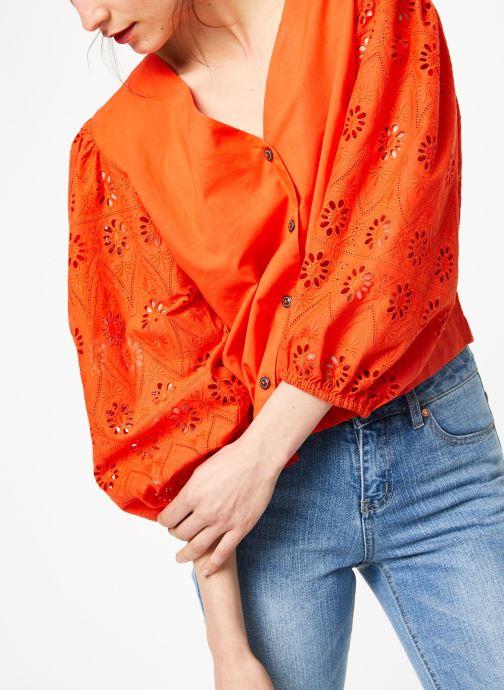 Vêtements MKT Studio HUTANI Rouge vue détail/paire