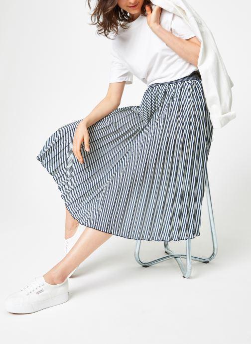 Vêtements MKT Studio JIGOU Blanc vue bas / vue portée sac