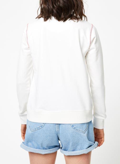 Vêtements MKT Studio SEKA WD Blanc vue portées chaussures