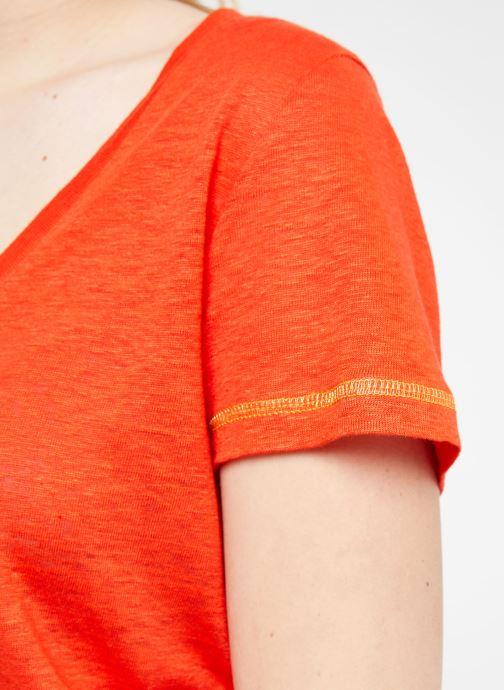 Vêtements MKT Studio TEMLI Rouge vue face