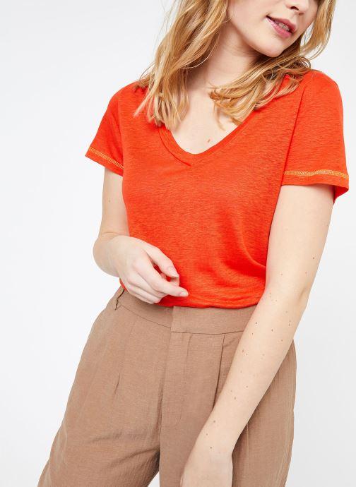 Vêtements MKT Studio TEMLI Rouge vue détail/paire