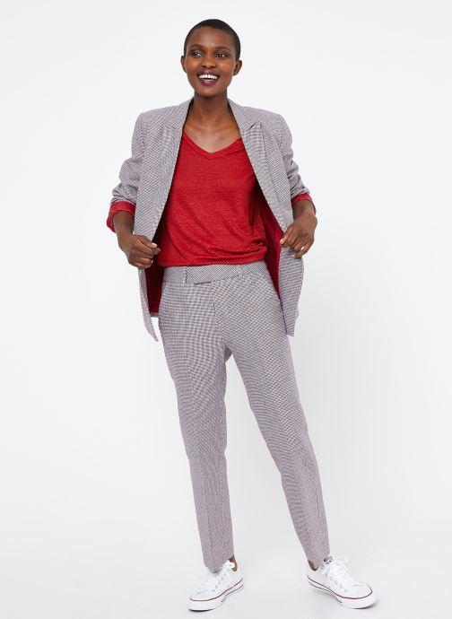 Vêtements MKT Studio TEMLI Rouge vue bas / vue portée sac