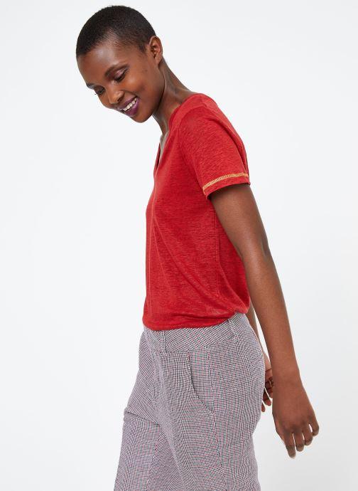 Vêtements MKT Studio TEMLI Rouge vue droite