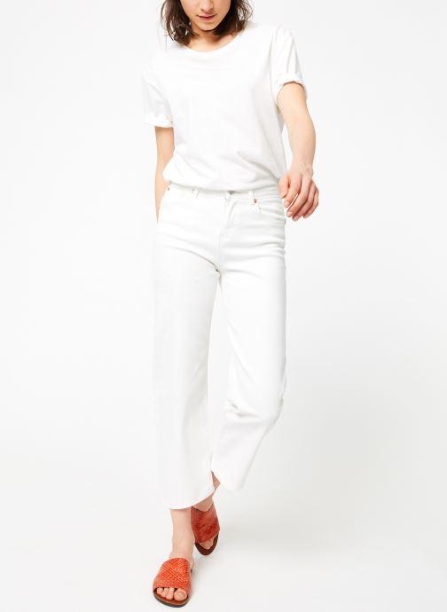 Vêtements MKT Studio THE EMMA NEW DRILL Blanc vue bas / vue portée sac