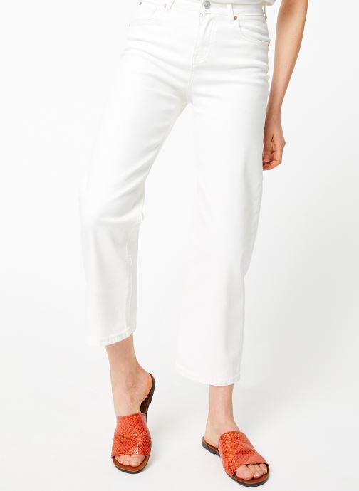 Vêtements MKT Studio THE EMMA NEW DRILL Blanc vue détail/paire
