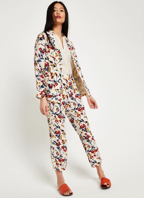 VêtementsPantalons 08 Stella Ecru Imp Forest Lilac pantalon Pwk08On