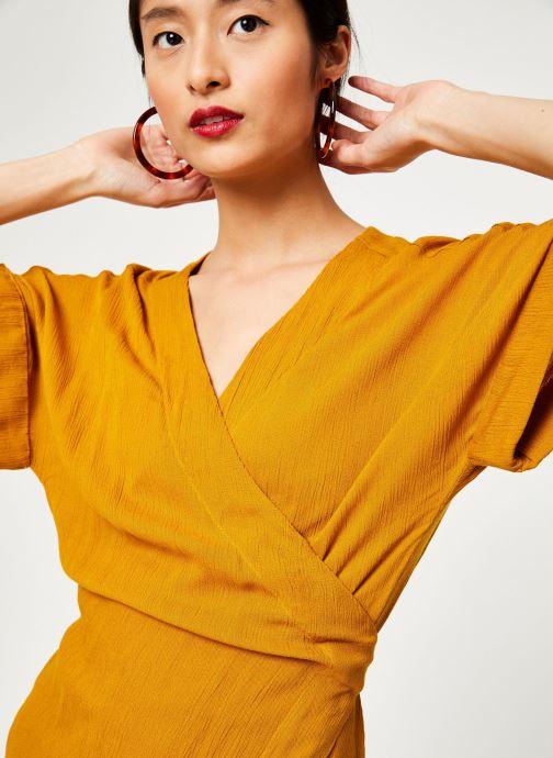 Vêtements Stella Forest ROBE MIDI BETSY Jaune vue face