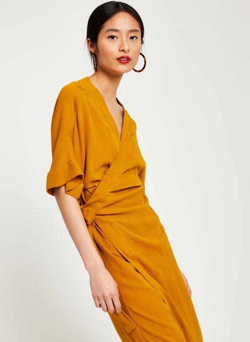 Vêtements Stella Forest ROBE MIDI BETSY Jaune vue droite