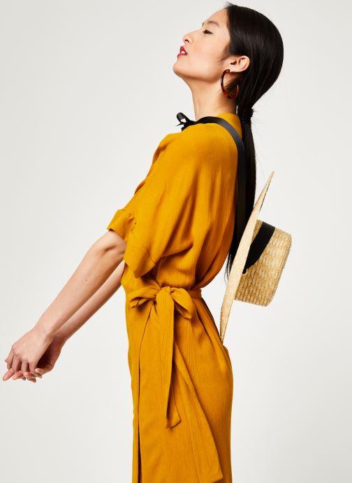 Vêtements Stella Forest ROBE MIDI BETSY Jaune vue détail/paire