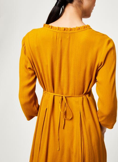 Vêtements Stella Forest ROBE LONGUE BETSY Jaune vue face
