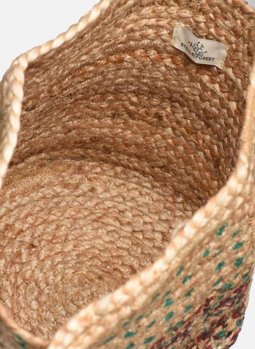 Handtaschen Stella Forest SAC PANIER BI IMP JESSIE grün ansicht von hinten