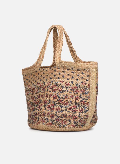 Handtaschen Stella Forest SAC PANIER BI IMP JESSIE beige schuhe getragen