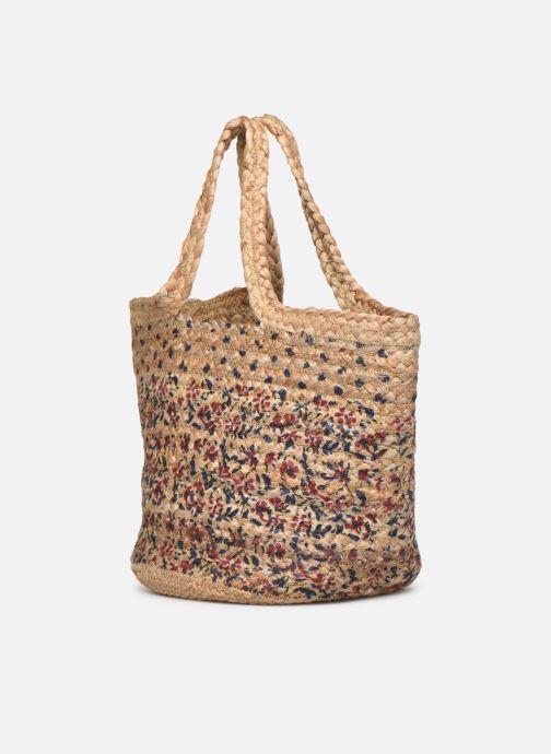 Handtaschen Stella Forest SAC PANIER BI IMP JESSIE beige ansicht von rechts