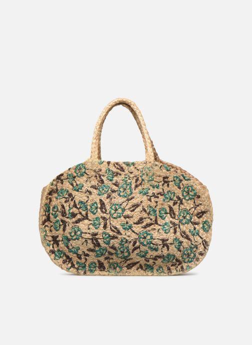 Handtaschen Stella Forest SAC PANIER IMPRIME FLEURS JEAN grün detaillierte ansicht/modell