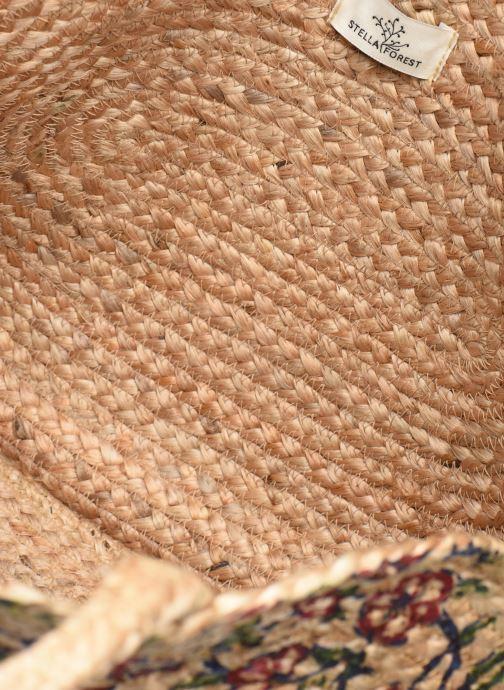Handtaschen Stella Forest SAC PANIER IMPRIME FLEURS JEAN beige ansicht von hinten