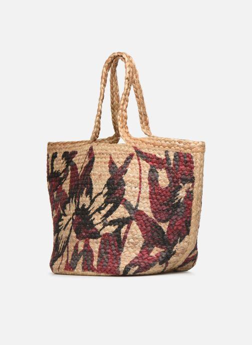 Handtaschen Stella Forest SAC PANIER IMPRIME CAROLYN beige schuhe getragen