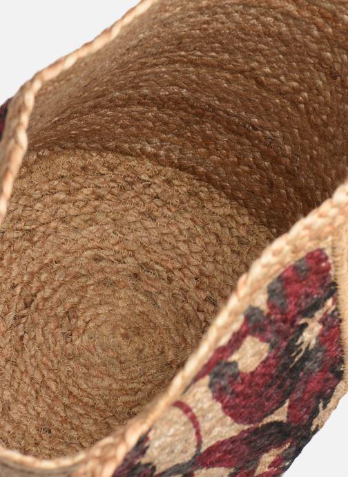 Handtaschen Stella Forest SAC PANIER IMPRIME CAROLYN beige ansicht von hinten
