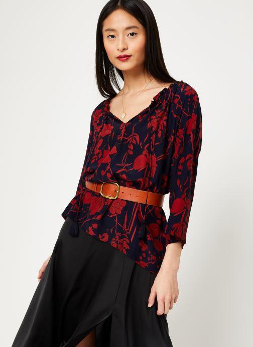 Vêtements Stella Forest TUNIQUE IMP ORCHIDEE Bleu vue détail/paire