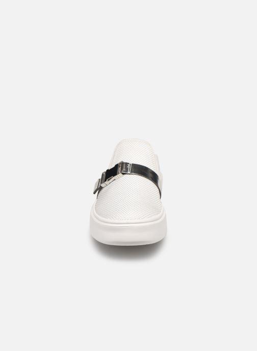 Baskets Geox D Nhenbus G Blanc vue portées chaussures