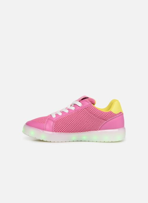 Trainers Geox J Kommodor G. A J824HA Pink front view
