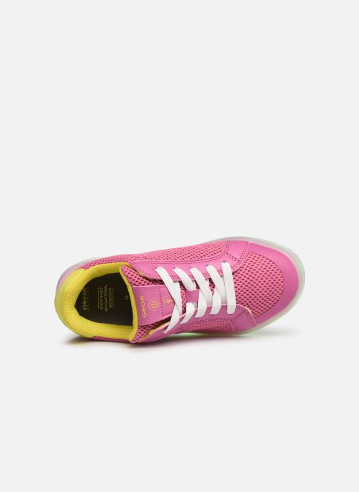 Trainers Geox J Kommodor G. A J824HA Pink view from the left