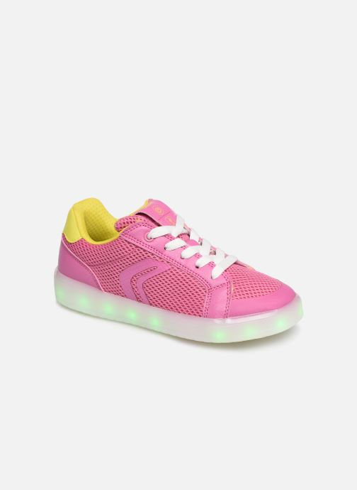 Trainers Geox J Kommodor G. A J824HA Pink detailed view/ Pair view