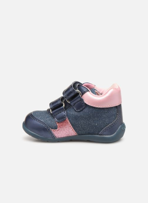 Sneakers Geox B Elthan Girl Rosa immagine frontale