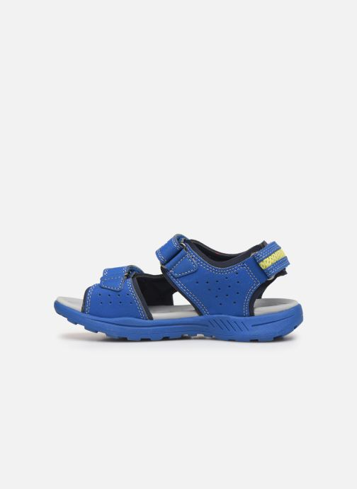 Sandales et nu-pieds Geox J Vaniett Boy Bleu vue face