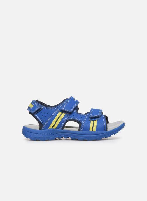 Sandales et nu-pieds Geox J Vaniett Boy Bleu vue derrière