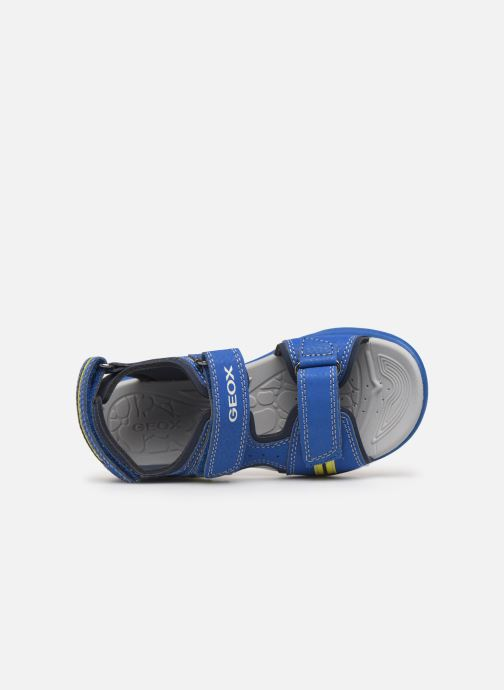 Sandales et nu-pieds Geox J Vaniett Boy Bleu vue gauche