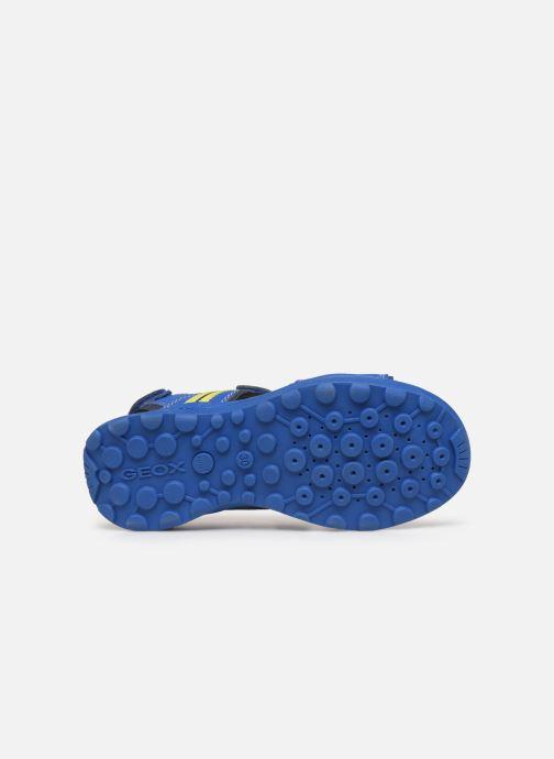 Sandales et nu-pieds Geox J Vaniett Boy Bleu vue haut