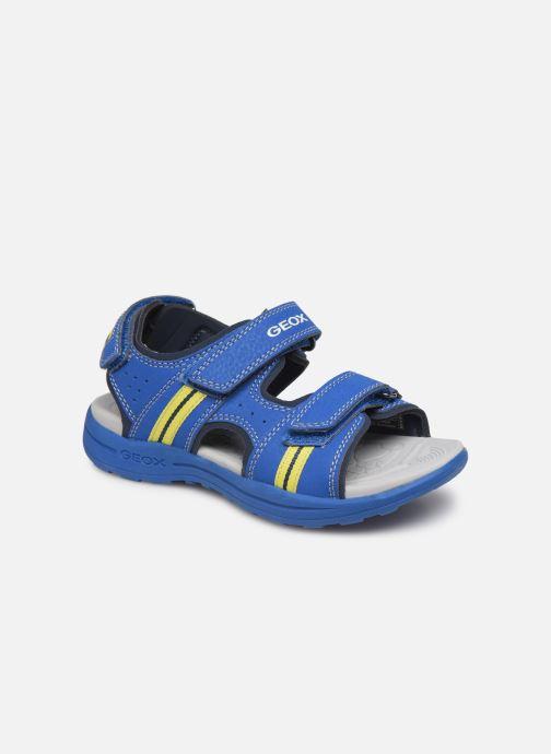 Sandales et nu-pieds Geox J Vaniett Boy Bleu vue détail/paire