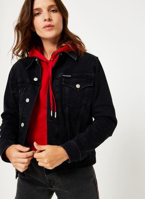 Vêtements Calvin Klein Jeans FOUNDATION TRUCKER Noir vue détail/paire