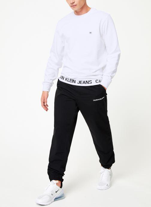 Vêtements Calvin Klein Jeans INSTIT LOGO WAISTBAND CN Blanc vue bas / vue portée sac