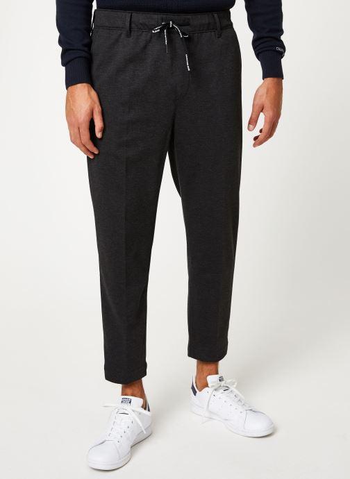 Vêtements Calvin Klein Jeans GALFOS MELANGE PANTS Noir vue détail/paire