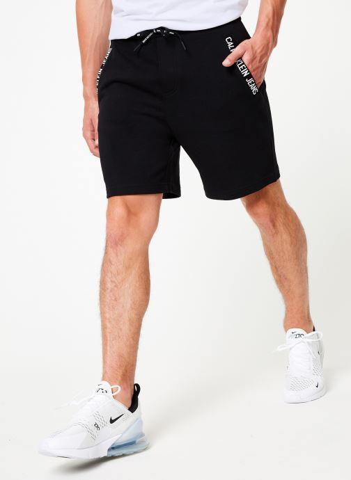 Vêtements Calvin Klein Jeans HWK INSTIT CUFF SHORT Noir vue détail/paire