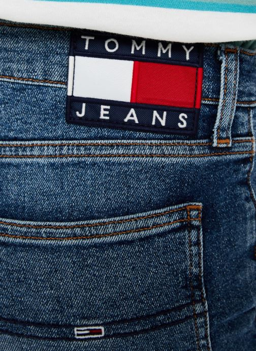 Vêtements Tommy Jeans HIGH RISE SLIM IZZY CROP ACMBC Bleu vue face