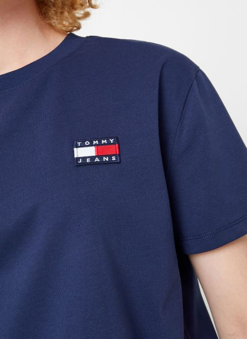 Kleding Tommy Jeans TJW TOMMY BADGE TEE Blauw voorkant