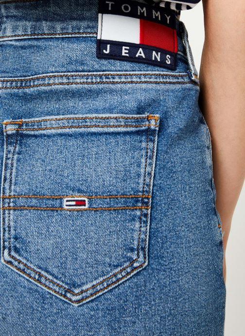 Vêtements Tommy Jeans REGULAR DENIM SKIRT ACLBC Bleu vue face