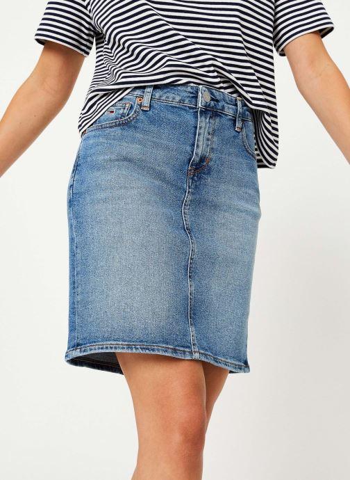 Vêtements Tommy Jeans REGULAR DENIM SKIRT ACLBC Bleu vue détail/paire
