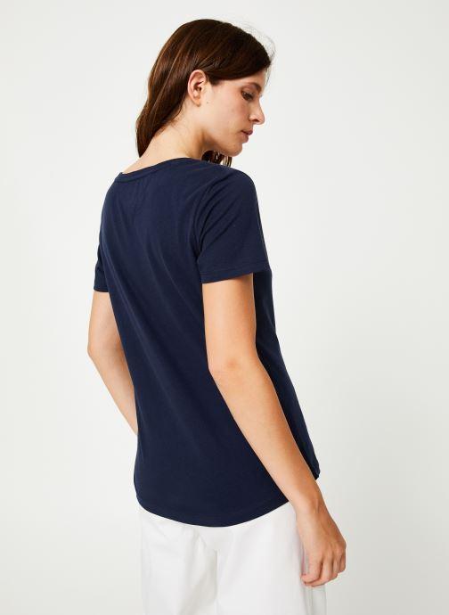 Kleding Tommy Jeans TJW SOFT JERSEY TEE Blauw model