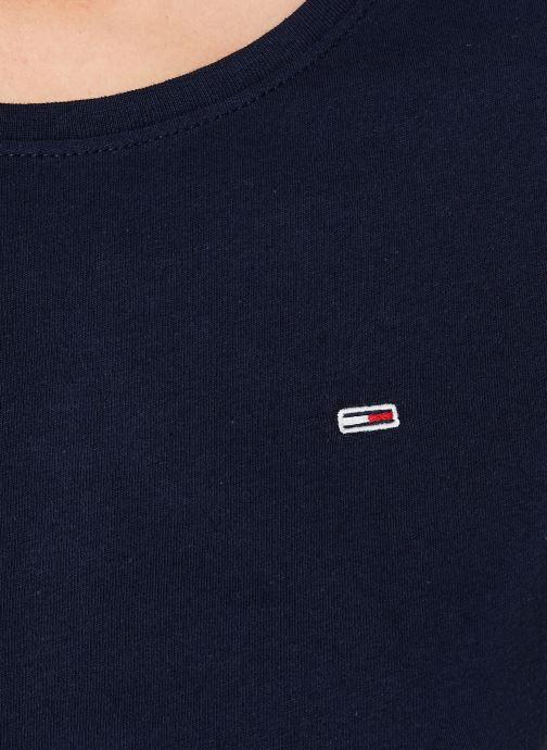 Vêtements Tommy Jeans TJW SOFT JERSEY TEE Bleu vue face
