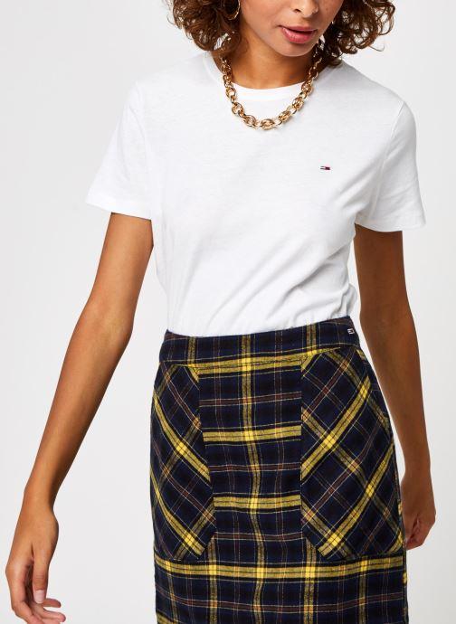 Vêtements Tommy Jeans TJW SOFT JERSEY TEE Blanc vue détail/paire