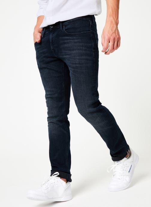 Vêtements Tommy Jeans SLIM SCANTON MBLKS Bleu vue détail/paire